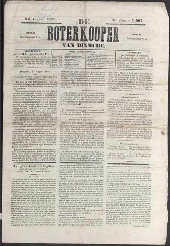 De Boterkoper 1867-08-22
