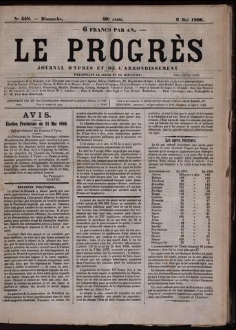 Le Progrès (1841-1914) 1880-05-09