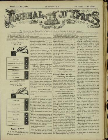 Journal d'Ypres (1874 - 1913) 1900-05-12