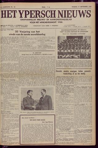 Het Ypersch nieuws (1929-1971) 1968-09-27