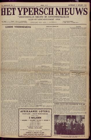 Het Ypersch nieuws (1929-1971) 1962-01-06