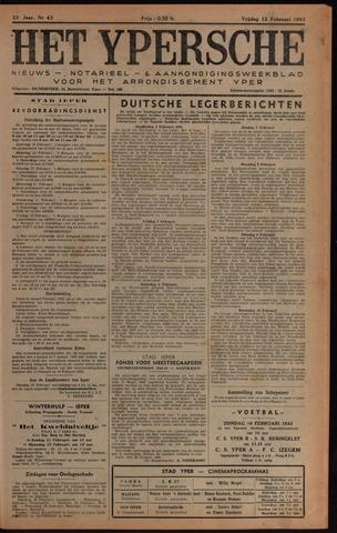 Het Ypersch nieuws (1929-1971) 1943-02-12
