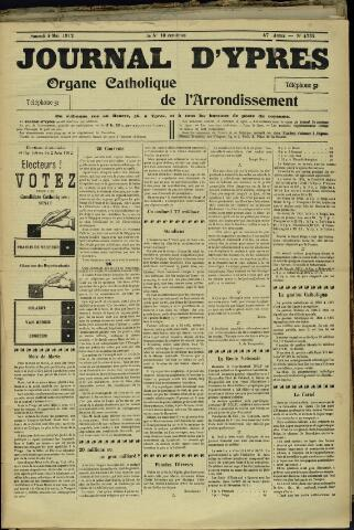Journal d'Ypres (1874 - 1913) 1912-05-04