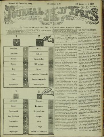 Journal d'Ypres (1874 - 1913) 1895-11-13