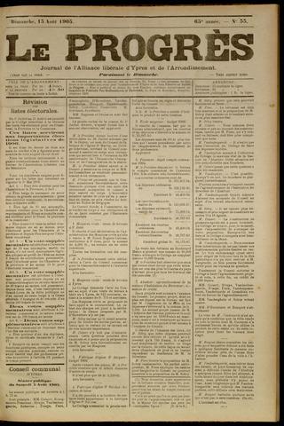 Le Progrès (1841-1914) 1905-08-13