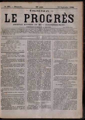 Le Progrès (1841-1914) 1880-09-12
