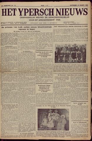 Het Ypersch nieuws (1929-1971) 1961-03-18