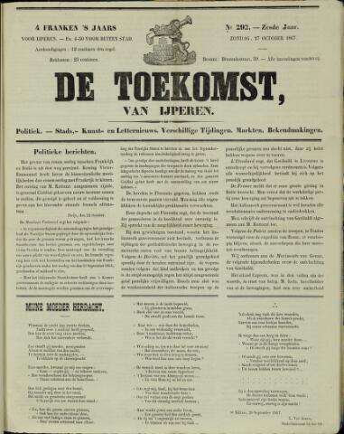 De Toekomst (1862 - 1894) 1867-10-27