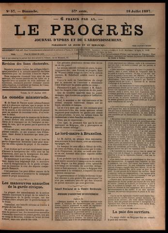 Le Progrès (1841-1914) 1897-07-18