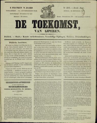 De Toekomst (1862 - 1894) 1867-09-22