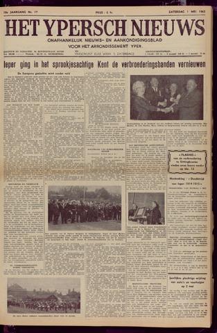 Het Ypersch nieuws (1929-1971) 1965-05-01