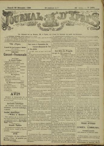 Journal d'Ypres (1874 - 1913) 1900-12-29