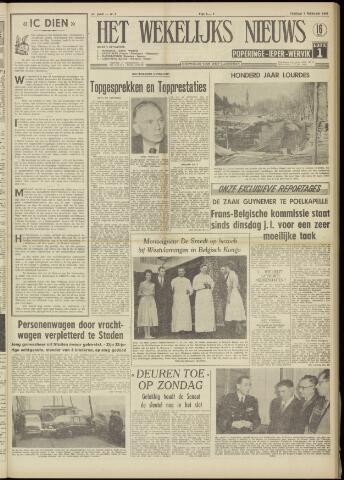 Het Wekelijks Nieuws (1946-1990) 1958-02-07