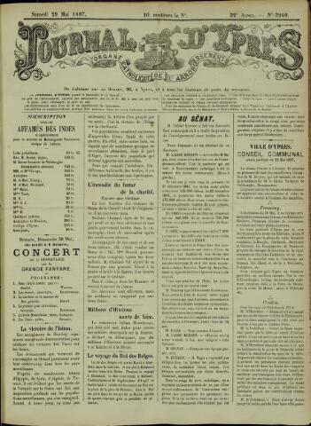Journal d'Ypres (1874 - 1913) 1897-05-29