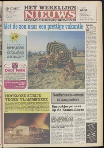 Het Wekelijks Nieuws (1946-1990) 1985-07-19