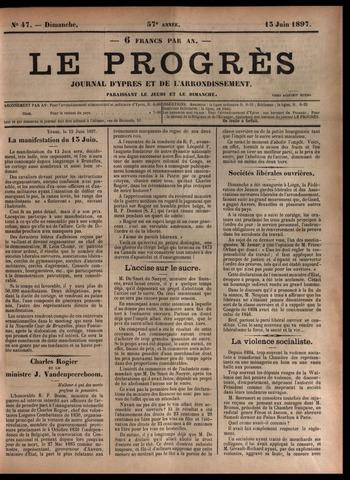 Le Progrès (1841-1914) 1897-06-13