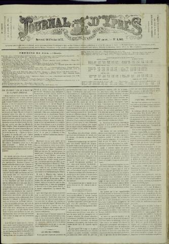 Journal d'Ypres (1874 - 1913) 1877-02-28