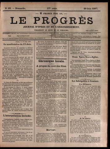 Le Progrès (1841-1914) 1897-06-20