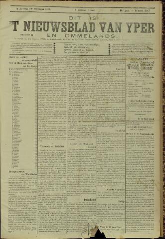 Nieuwsblad van Yperen en van het Arrondissement (1872 - 1912) 1905-12-30
