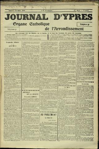Journal d'Ypres (1874 - 1913) 1912-12-07