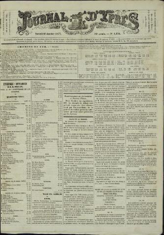 Journal d'Ypres (1874 - 1913) 1877-01-20