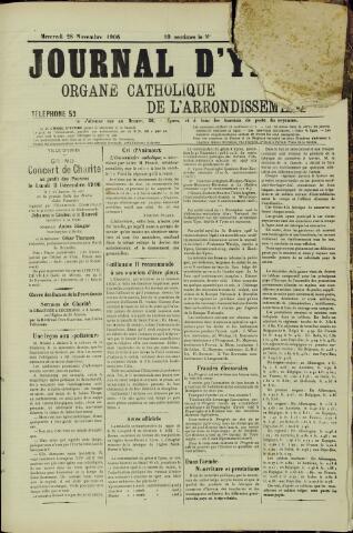 Journal d'Ypres (1874 - 1913) 1906-11-28