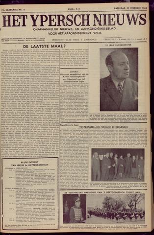 Het Ypersch nieuws (1929-1971) 1964-02-22