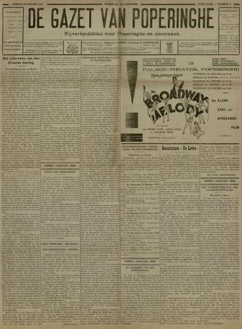 De Gazet van Poperinghe  (1921-1940) 1931-01-25