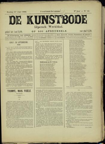 De Kunstbode (1880 - 1883) 1882-06-11