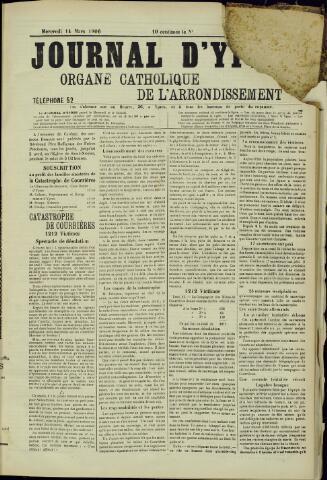 Journal d'Ypres (1874 - 1913) 1906-03-14