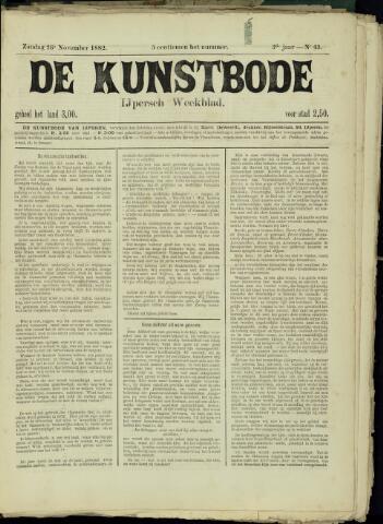 De Kunstbode (1880 - 1883) 1882-11-26