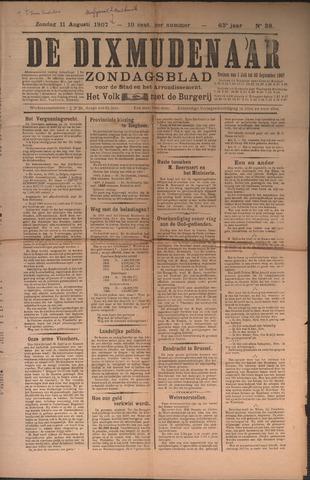De Dixmudenaar 1907-08-11