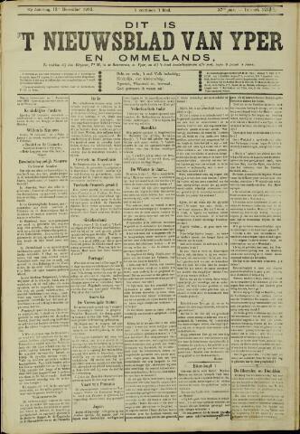 Nieuwsblad van Yperen en van het Arrondissement (1872 - 1912) 1902-12-13