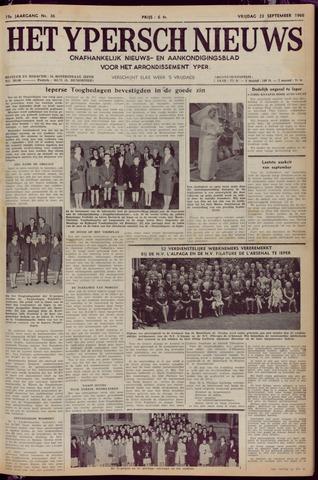 Het Ypersch nieuws (1929-1971) 1966-09-23
