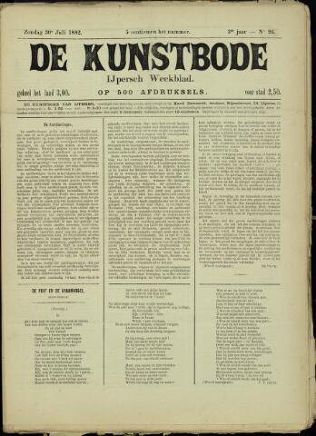De Kunstbode (1880 - 1883) 1882-07-30