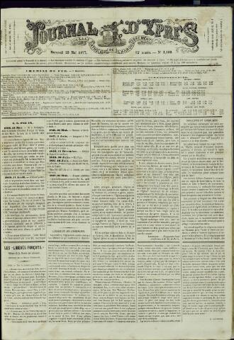 Journal d'Ypres (1874 - 1913) 1877-05-23