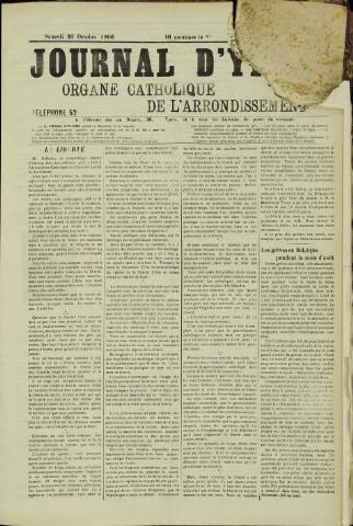 Journal d'Ypres (1874 - 1913) 1906-10-20