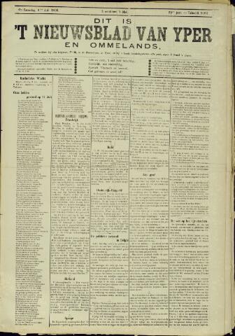 Nieuwsblad van Yperen en van het Arrondissement (1872 - 1912) 1899-07-08