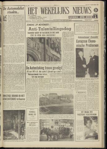 Het Wekelijks Nieuws (1946-1990) 1959-11-27