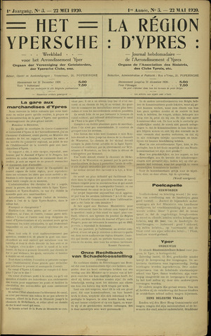 Het Ypersche (1925 - 1929) 1920-05-22