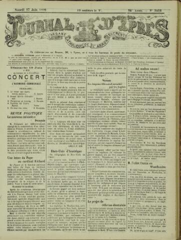 Journal d'Ypres (1874 - 1913) 1899-06-17