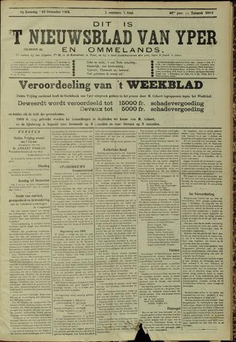 Nieuwsblad van Yperen en van het Arrondissement (1872 - 1912) 1905-12-23