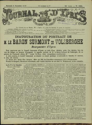 Journal d'Ypres (1874 - 1913) 1899-11-08
