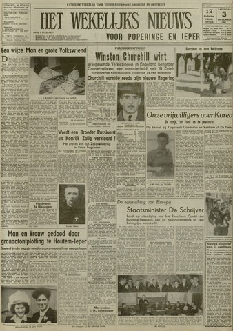 Het Wekelijks Nieuws (1946-1990) 1951-11-03