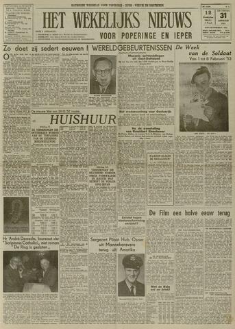 Het Wekelijks Nieuws (1946-1990) 1953-01-31