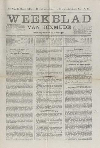 Weekblad van Dixmude 1874-03-29