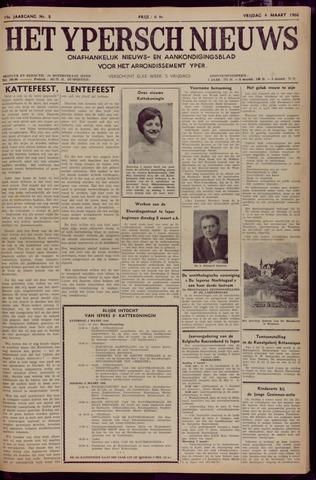 Het Ypersch nieuws (1929-1971) 1966-03-04