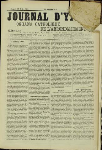 Journal d'Ypres (1874 - 1913) 1906-08-18