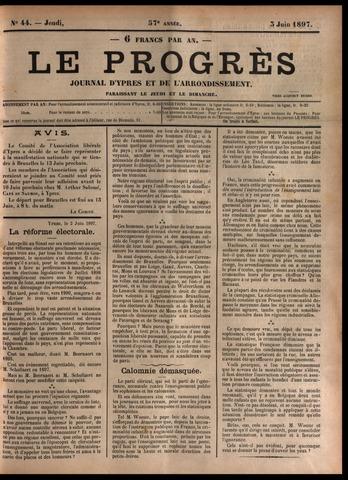 Le Progrès (1841-1914) 1897-06-03