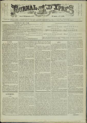 Journal d'Ypres (1874 - 1913) 1877-09-29